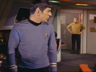 Spock! I Thought You Were Coming To Bed.